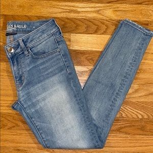 American Eagle Super Stretch Jegging Jeans Size 4